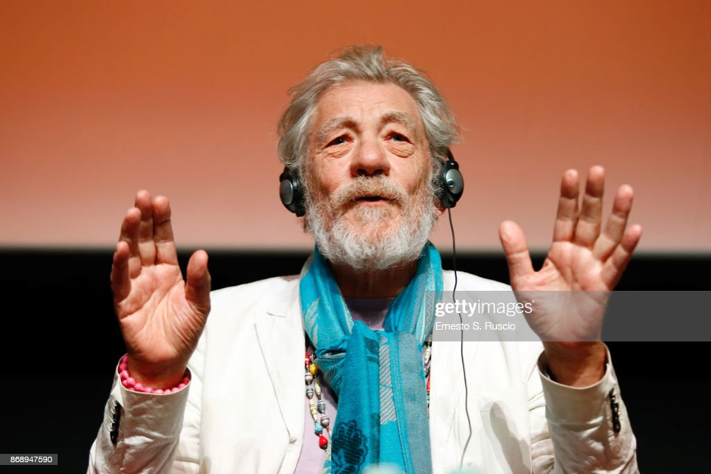 McKellen: Playing the Part Press Conference - 12th Rome Film Fest : News Photo