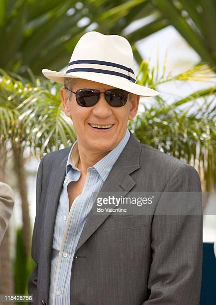 "Ian McKellen during 2006 Cannes Film Festival - ""The Da Vinci Code"" Photo Call at Palais du Festival in Cannes, France."