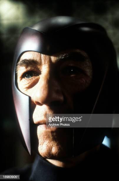 Ian McKellen in a scene from the film 'X-Men', 2000.