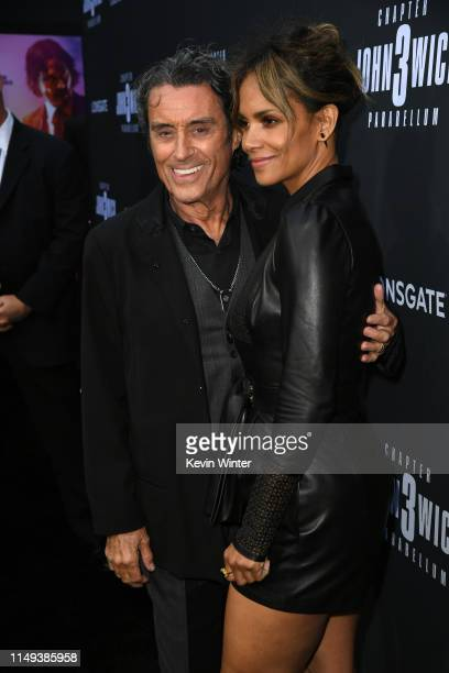 Ian McShane and Halle Berry attend the special screening of Lionsgate's John Wick Chapter 3 Parabellum at TCL Chinese Theatre on May 15 2019 in...
