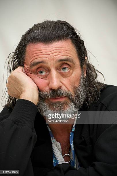Ian McShane at 'The Pillars of the Earth' Press Conference at the Four Seasons Hotel on May 19 2010 in Beverly Hills California