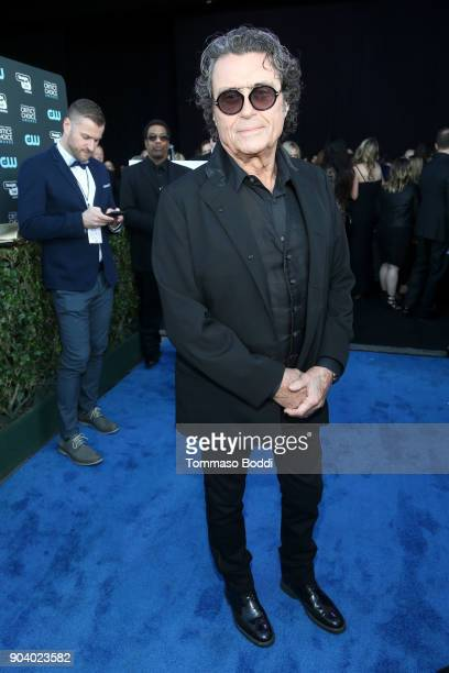 Ian McShane attends the 23rd Annual Critics' Choice Awards on January 11 2018 in Santa Monica California