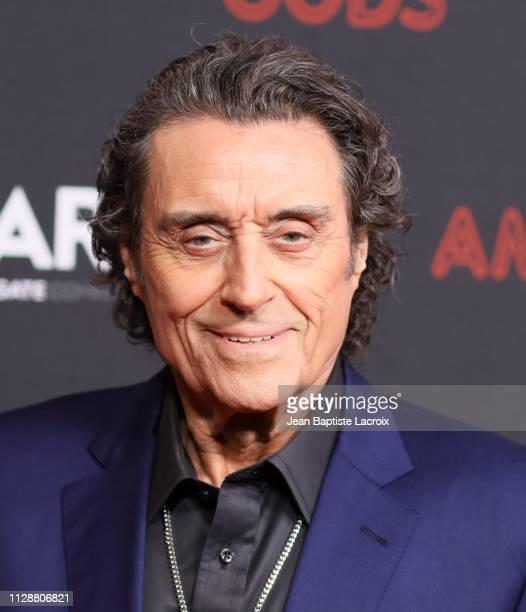Ian McShane attends the premiere of STARZ's 'American Gods' season 2 at Ace Hotel on March 05 2019 in Los Angeles California