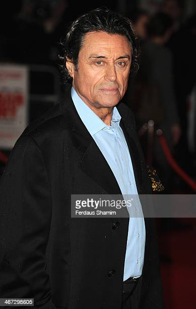 Ian McShane attends the World Premiere of 'Cuban Fury' at Vue Leicester Square on February 6 2014 in London England