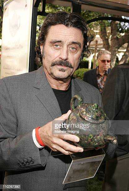 Ian McShane during 3rd Annual BAFTA Tea Party Honoring Emmy Nominees at Park Hyatt Hotel in Century City California United States