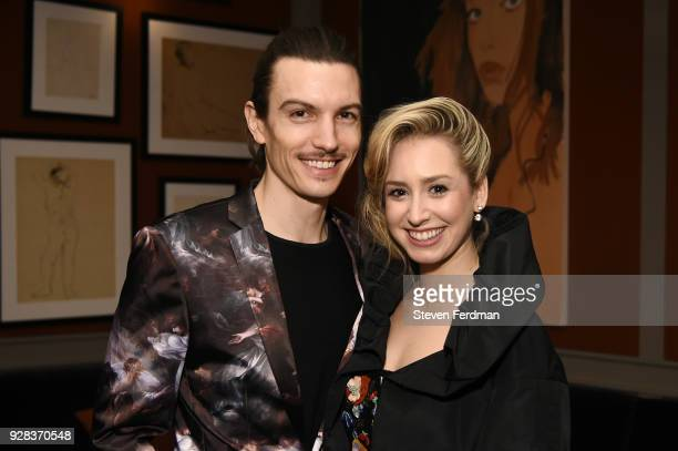 Ian Mellencamp and Jazmin Grace Grimaldi attend her birthday and the launch of the Jazmin Fundraiser at HGU New York on March 6 2018 in New York City