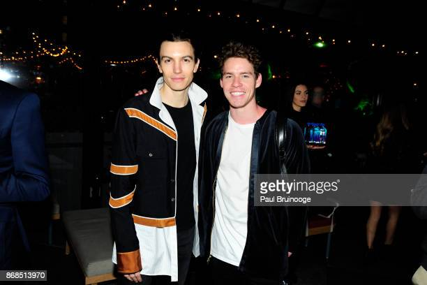 Ian Mellencamp and Tyler Clinton attend The Cinema Society with FIJI Water Men's Journal and Synchrony host the after party for Marvel Studios' 'Thor...