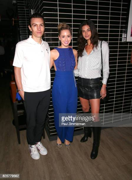 Ian Mellencamp Jazmin Grimaldi and Mariah Strongin attend The Weinstein Company With FIJI Grey Goose Lexus And NetJets Host A Screening Of 'Wind...