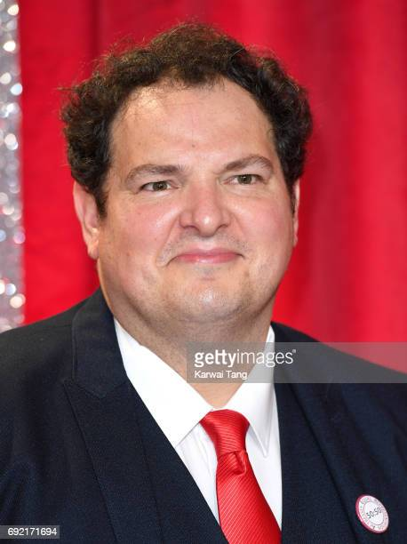 Ian Midlane attends the British Soap Awards at The Lowry Theatre on June 3 2017 in Manchester England