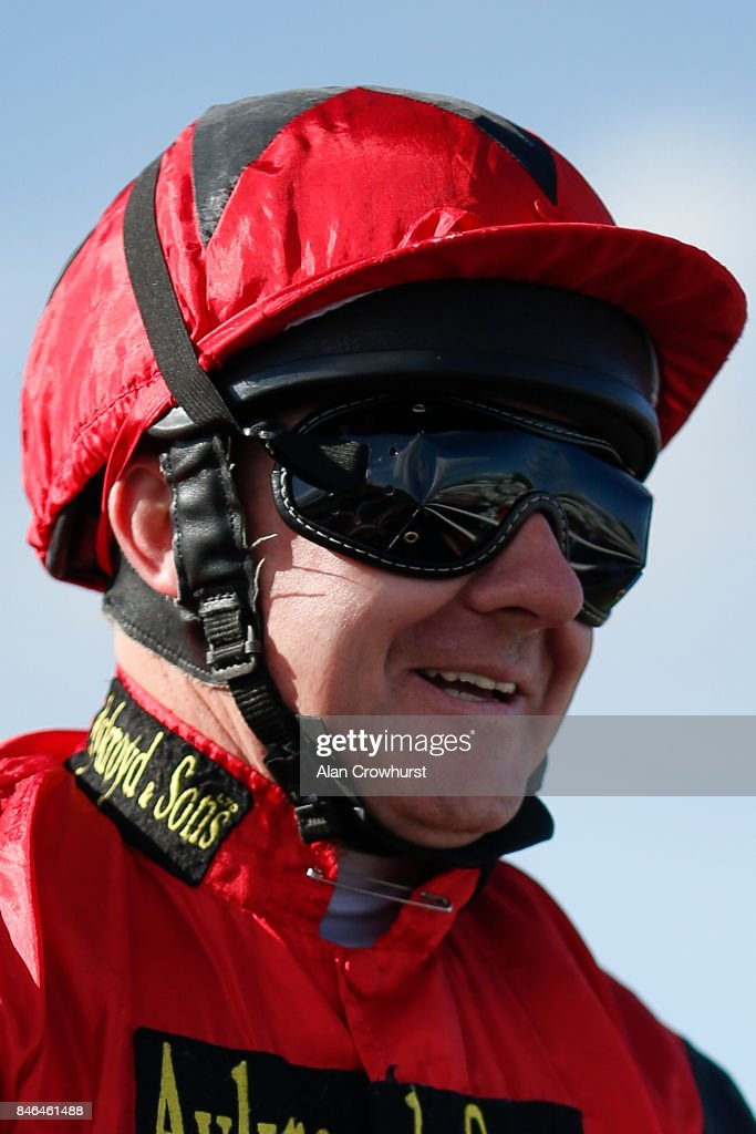 Ian Mongan poses at Doncaster racecourse on September 13, 2017 in Doncaster, United Kingdom.