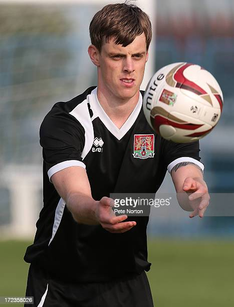 Ian Morris of Northampton Town in action during a training session during PreSeason Training on July 2 2013 in Novigrad Croatia
