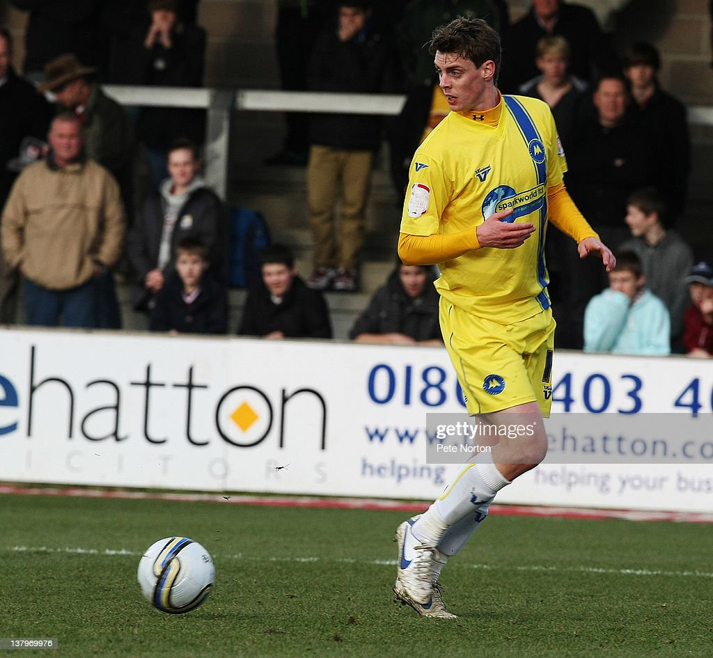 Ian Morris of Torquay United in action during the npower League Two match between Torquay United and Northampton Town at Plainmoor on January 28, 2012 in Torquay, England.