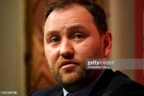 Ian Murray, MP for Edinburgh South, addresses the audience during the last Labour Party Deputy Leadership hustings at Dudley Town Hall on March 08,...