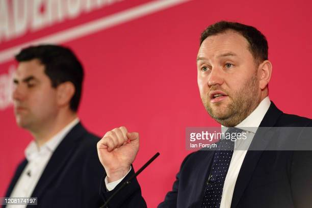 Ian Murray MP for Edinburgh South speaks during the Labour Party Deputy Leadership hustings at the Radisson Blu Hotel on February 23 2020 in Durham...
