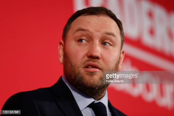 Ian Murray speaks at a hustings event for Labour Leader and Deputy Leader hosted by the Cooperative Party at the Business Design Centre on February...