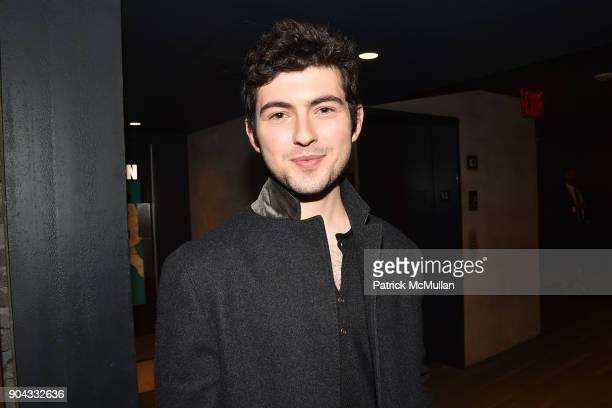 Ian Nelson attends The Cinema Society Bluemercury host the premiere of IFC Films' 'Freak Show' at Landmark Sunshine Cinema on January 10 2018 in New...