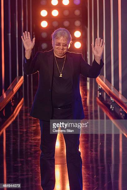 Ian Paice attends the taping of 'Back To School Gottschalks grosses Klassentreffen' Show on January 24 2014 in Berlin Germany