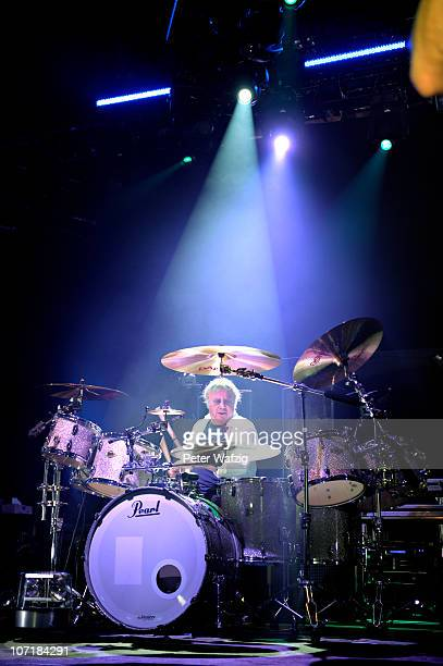 Ian Paice of Deep Purple performs on stage at the Grugahalle on November 28, 2010 in Essen, Germany.