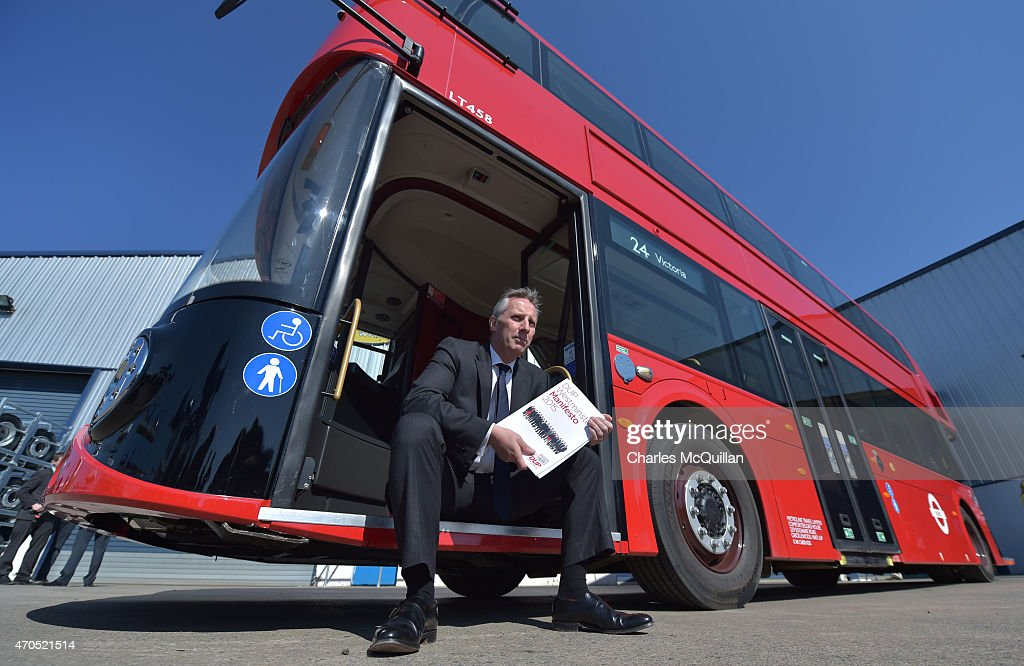 Ian Paisley Jr poses for photographers at the launch of the Democratic Unionist Party Election Manifesto at Wrightbus, supplier of the London Routemaster buses on April 21, 2015 in Antrim, Northern Ireland. Many political observers have predicted that the expected 8-10 DUP Westminster seats could have a key role in deciding who will form the next government if the general election results in a hung parliment. In anticipation of the important role the party may play the DUP has already outlined their demands from a potential government partner and hasn't ruled out working with Labour or the Conservatives.