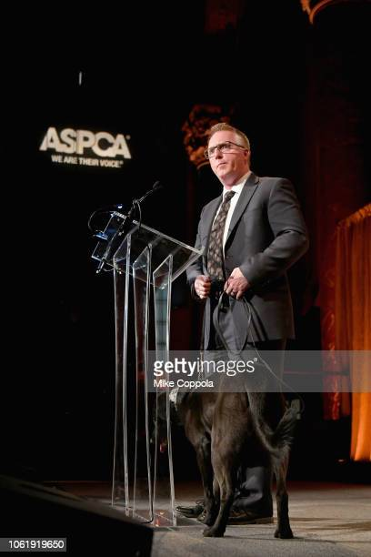 Ian Polhemus speaks at the ASPCA Hosts 2018 Humane Awards Luncheon at Cipriani 42nd Street on November 15 2018 in New York City