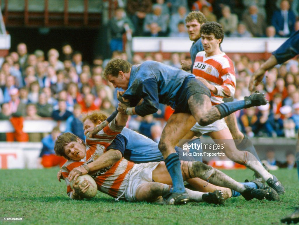 Wigan v St Helens Rugby League : News Photo