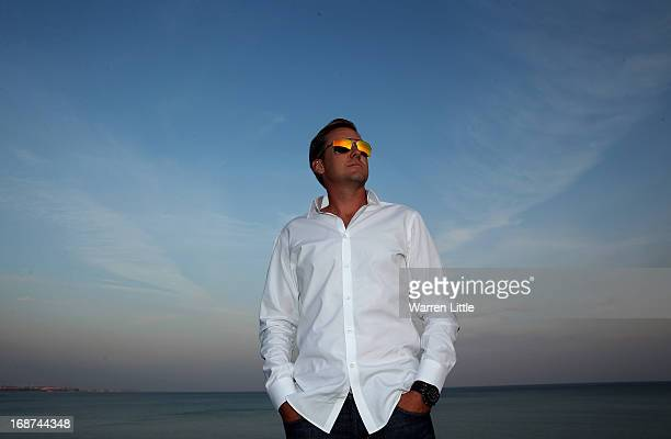 Ian Poulter of England poses ahead of the Volvo World Match Play Championship at Thracian Cliffs Golf & Beach Resort on May 14, 2013 in Kavarna,...