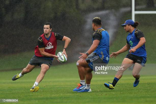 Ian Prior in action during a Western Force media opportunity at the UWA Sports Park on June 11, 2020 in Perth, Australia.