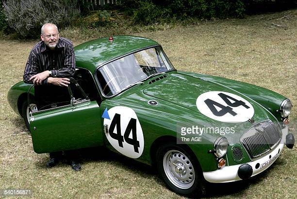 Ian Prior's MGA Sebring won its class in the 1961 Sebring World Sports Car Championship 13 October 2006 THE AGE Picture by GARY MEDLICOTT