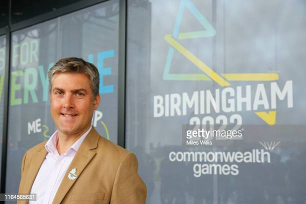 Ian Reid CEO Birmingham 2022 Commonwealth Games poses during the Birmingham 2022 Commonwealth Games celebrates three-year countdown to 'The Games For...
