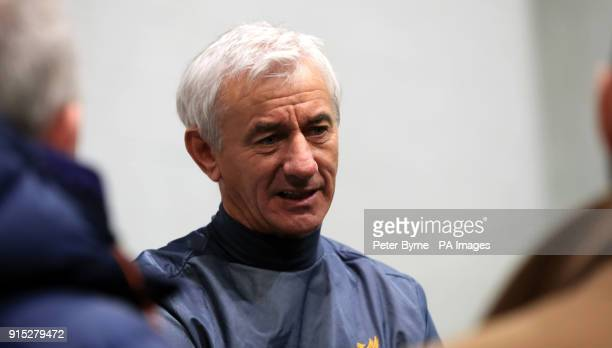 Ian Rush during a preview day for the Liverpool Legends charity match against Bayern Munich at The LFC Academy Liverpool