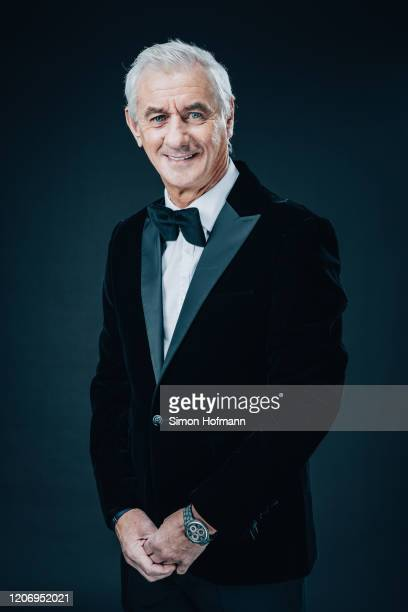 Ian Rush Former Liverpool player and International Academy Ambassador poses at the Mercedes Benz Building prior to the 2020 Laureus World Sports...