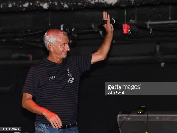 Ian Rush Legend of Liverpool at the House of Blues on July 20 2019 in Boston Massachusetts