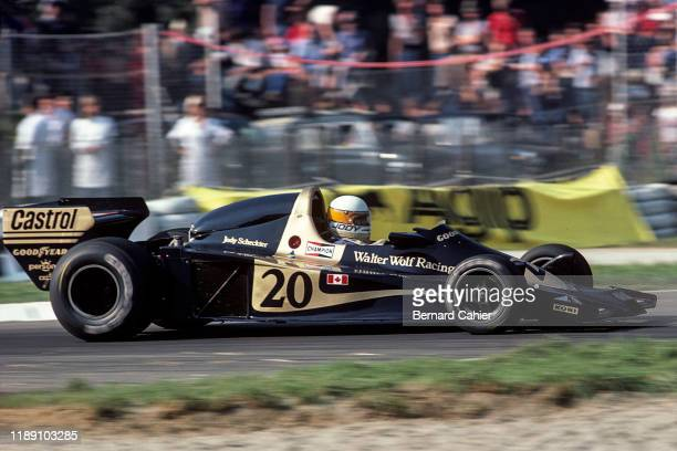 Ian Scheckter OR Jody Scheckter, Wolf-Ford WR1, Grand Prix of Italy, Autodromo Nazionale Monza, 11 September 1977.