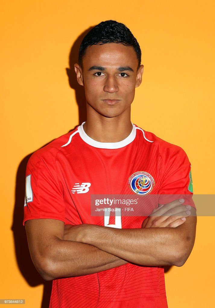 Ian Smith #4 of Costa Rica poses during the official FIFA World Cup 2018 portrait session at on June 13, 2018 in Saint Petersburg, Russia.