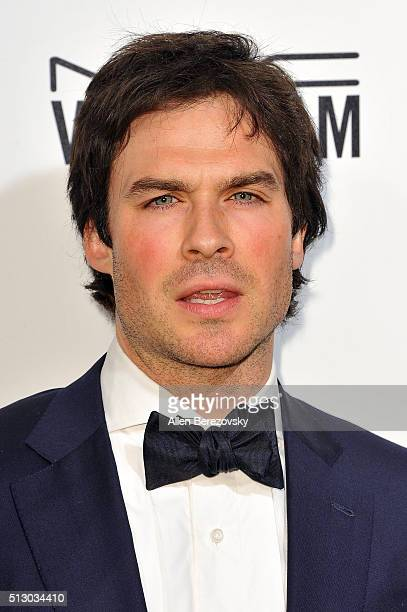 Ian Somerhalder arrives at the 24th Annual Elton John AIDS Foundation's Oscar Viewing Party on February 28 2016 in West Hollywood California