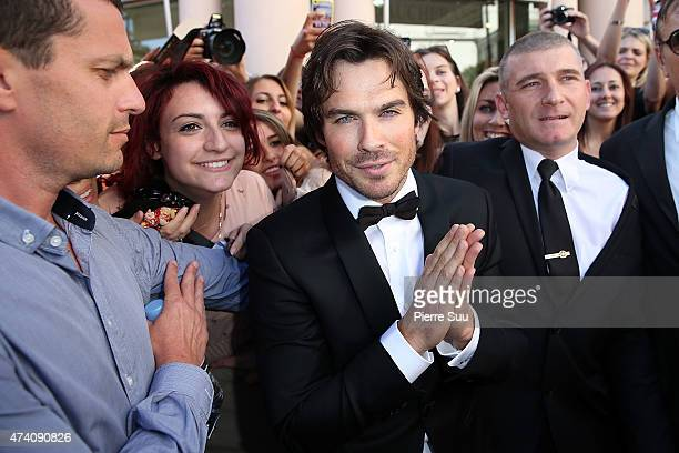 Ian Somerhalder at the Majestic Hotel during the 68th annual Cannes Film Festival on May 20 2015 in Cannes France