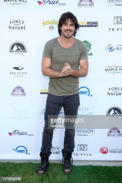 Ian Somerhalder attends a Special DriveIn Screening of KISS THE GROUND available on Netflix September 22 2020