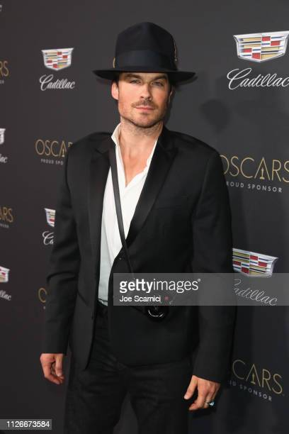 Ian Somerhalder attends the Cadillac Oscar Week Celebration at Chateau Marmont on February 21 2019 in Los Angeles California