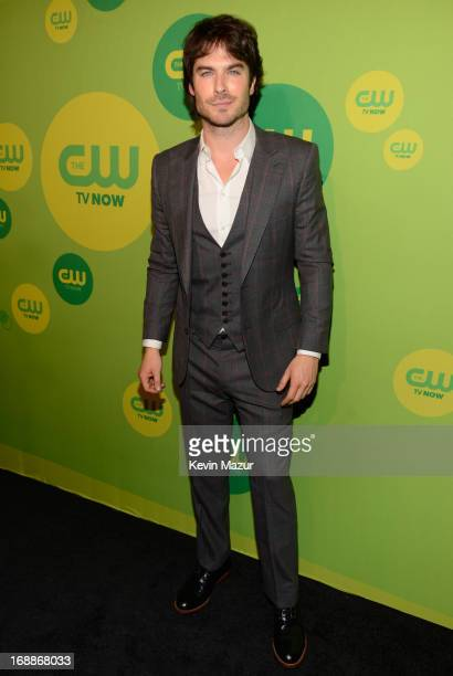 Ian Somerhalder attends the CW Network's 2013 Upfront at The London Hotel on May 16, 2013 in New York City.