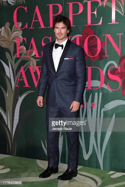 Ian Somerhalder attends the Green Carpet Fashion Awards during the Milan Fashion Week Spring/Summer 2020 on September 22 2019 in Milan Italy