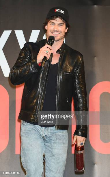 Ian Somerhalder attends the talk event during the Tokyo Comic Con 2019 at Makuhari Messe on November 23 2019 in Chiba Japan