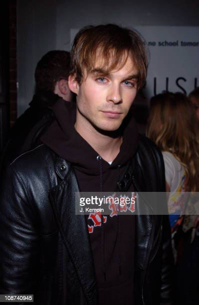 Ian Somerhalder during Crush Night Club Opening Hosted by Damien Fahey at 539 West 21st Street in New York City New York United States