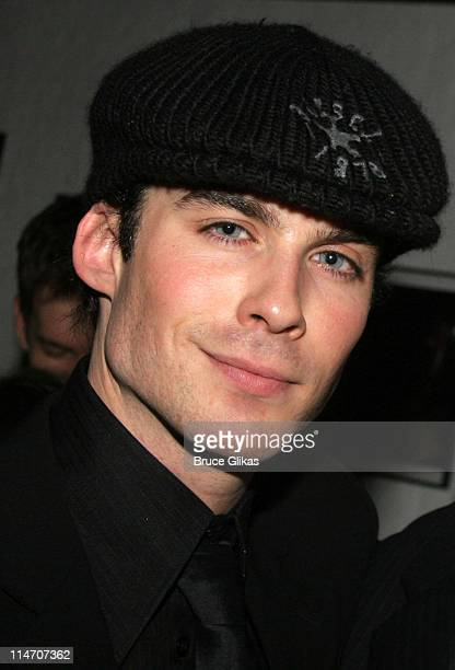 Ian Somerhalder during 'Dog Sees God Confessions of a Teenage Blockhead' OffBroadway Opening Night Party at Lucy's Latin Kitchen in New York City New...