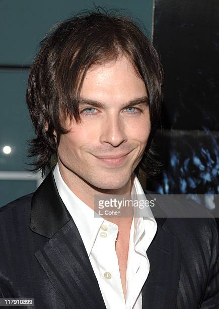 Ian Somerhalder during 'Pulse' Los Angeles Premiere Red Carpet at Arclight in Hollywood California United States