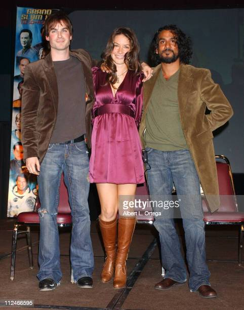 Ian Somerhalder Evangeline Lilly and Naveen Andrews
