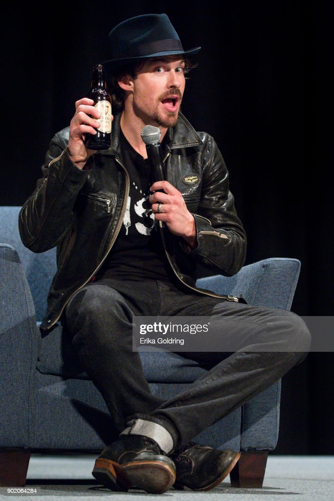 Ian Somerhalder participates in a Q&A during Wizard World Comic Con at Ernest N. Morial Convention Center on January 6, 2018 in New Orleans, Louisiana.