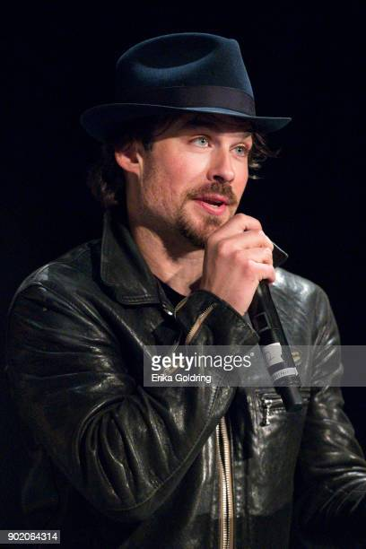 Ian Somerhalder participates in a QA during Wizard World Comic Con at Ernest N Morial Convention Center on January 6 2018 in New Orleans Louisiana