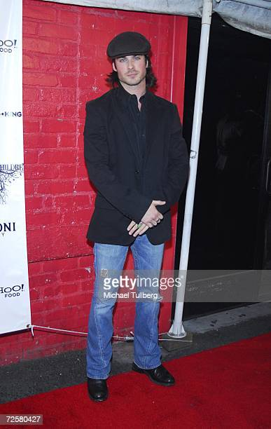 Ian Somerholder arrives at the 'Red Is For Emmy' Premiere Party held at the King King nightclub on November 15 in Hollywood California
