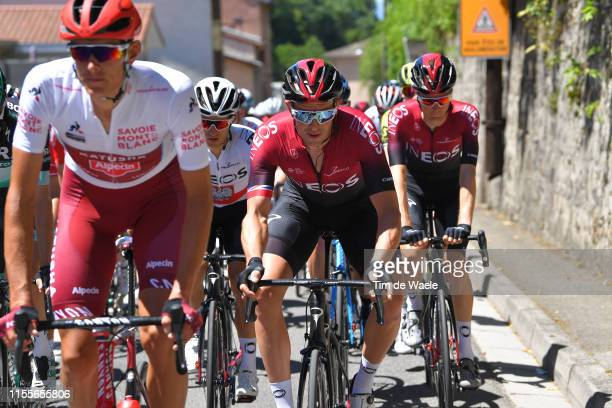 Ian Stannard of Great Britain and Team INEOS / Dylan van Baarle of The Netherlands and Team INEOS / during the 71st Criterium du Dauphine 2019 Stage...