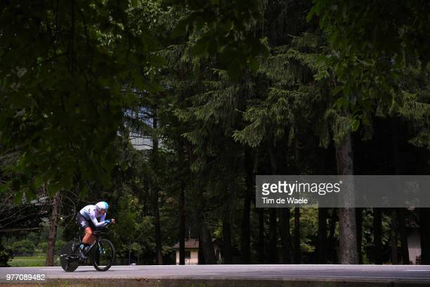 Ian Stannard of Great Britain and Team Sky / during the 82nd Tour of Switzerland 2018 Stage 9 a 341km individual time trial stage from Bellinzona to...